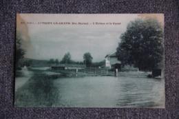AUTIGNY LE GRAND - L'Ecluse Et Le Canal - Autres Communes