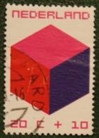 20 + 10 Ct Kinderzegel Child Welfare Kinder Enfant NVPH 980 (Mi 953) 1970 Gestempeld / USED NEDERLAND / NIEDERLANDE - Period 1949-1980 (Juliana)