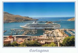 Paquebot Piroscafo Passenger Cruise  Ship Oceana. P&O Cruises. Cartagena - Dampfer