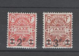 REUNION TAXES Yv 14/5 XX MNH - - Reunion Island (1852-1975)