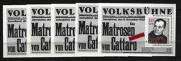 DDR - Block Nr. 96 X 5 - 100. Geburtstag Von Friedrich Wolf - Postfrisch - [6] República Democrática