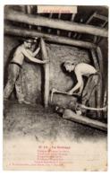 CPA Métier Mineurs Mines Charbon Le Boisage éditeur Moraux Delabnnoy à Lens Pas De Calais 62 N°19 - Lens