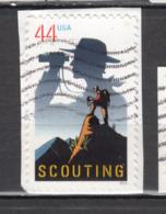 USA, Scout, Scoutisme, Scouting, Escalade, Climbing, Alpinisme, Jumelles, Binocular - Scouting