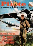 Pilote N°36 Salon De L'aviation Du Spirit Of St-Louis Au Concorde - Les Héros De L'odyssée Atlantique - Rémi Herphelin - Pilote