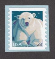 USA, BOBINO, Coil, Roulette, Ours Polaire, Polar Bear - Bears