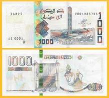 Algeria 1000 Dinars P-new 2018 (2019) UNC - Argelia