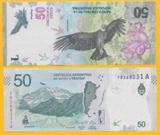 Argentina 50 PesosP-new 2018 UNC Banknote - Argentine