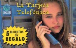 ESPAGNE / CARTE TELEFONICA MUNDE TELECOM - Espagne
