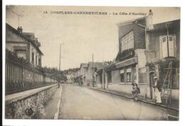 Yvelines CONFLANS CHENNEVIERES La Côte D'herblay Rare - Conflans Saint Honorine
