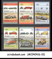 UNION ISLANDS GRENADINES OF ST. VINCENT - 1985-86 CLASSIC CARS - 12V - MINT NH - Cars