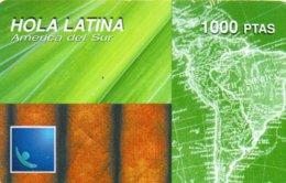 ESPAGNE / CARTE HOLA LATINA 1000 PTAS - Espagne