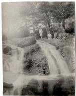 Lot De 2 Photos Anciennes - La Cascade D'Espont Près De BEYNAT ( Corrèze ) - 1912 ? - Lieux