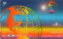 ESPAGNE / CARTE PREPAID CALLIGCARD 1000 PTAS - Espagne