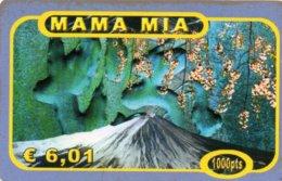 ESPAGNE / CARTE MAMA MIA  1000 PTAS / € 6,01 - Espagne