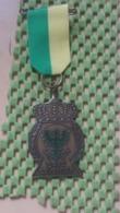 Medaille :Netherlands  - Davo Deventer  Medal - Walking Association - Nederland