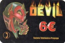 ESPAGNE / CARTE TELEFONICA PREPAGO 6€ - Espagne