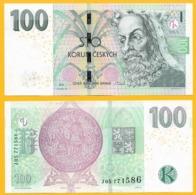 Czech Republic 100 Korun P-18 2018 UNC Banknote - Czech Republic