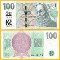 Czech Republic 100 Korun P-new 2018 / 2019 Commemorative UNC Banknote - Repubblica Ceca
