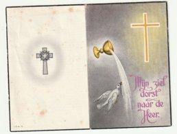 Doodsprentje Emile BREYNAERT Echtg. Vandenberghe Herne 1892 - 1968 Burgemeester Vuurkruiser 14-18 - Images Religieuses