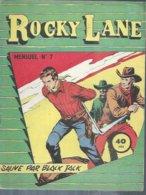 ROCKY LANE  N° 7 -   REMPARTS  1958 - Formatos Pequeños