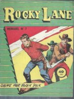 ROCKY LANE  N° 7 -   REMPARTS  1958 - Petit Format