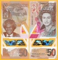 East Caribbean States 50 Dollars P-new 2019 Polymer Banknote UNC - Oostelijke Caraïben