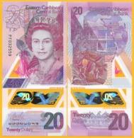 East Caribbean States 20 Dollars P-new 2019 Polymer Banknote UNC - Oostelijke Caraïben