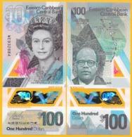 East Caribbean States 100 Dollars P-new 2019 Polymer Banknote UNC - Oostelijke Caraïben