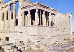 Athen - Die Karyastiden - Formato Grande Viaggiata – E 13 - Grecia