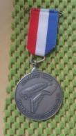 Medaille :Netherlands  -Ijsstadion Thiaf, 25e Wandeltocht H.W.F   Medal - Walking Association - Nederland