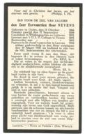 Oud Doodsprentje Priester Neyens Olen Tienen Leuven 1866-1910 - Santini