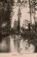 Cpa 39 OUNANS  Le Canal , Belle Animation , Peu Courante - Autres Communes