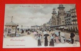 BLANKENBERGE -  De Zeedijk En Het Kursaal  - La Digue De Mer Et Le Kursaal - Blankenberge