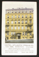 Praha/Prag - Hotel Atlantic - Praha XII - Tsjechië
