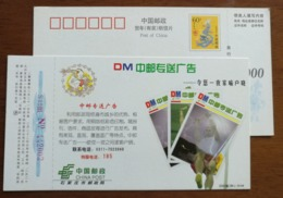 Former Soviet Union Pole Vault Athletes Sergey Bubka,CN 00 Hebei Post Delivery Mercantile Letters Pre-stamped Card - Jumping