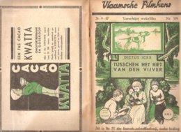 Vlaamsche Filmkens 359 Tussen Het Riet Van De Vijver 1937 GROOT FORMAAT: 16x23,5cm Averbode's Jeugbibliotheek KWATTA - Vecchi