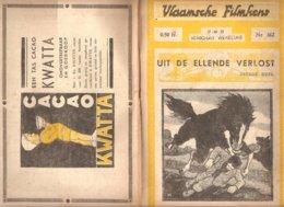 Vlaamsche Filmkens 362 Uit De Ellende Verlost 1937 GROOT FORMAAT: 16x23,5cm Averbode's Jeugbibliotheek KWATTA - Livres, BD, Revues