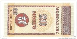 MONGOLIE 20 MONGO UNC P 50 - Mongolia