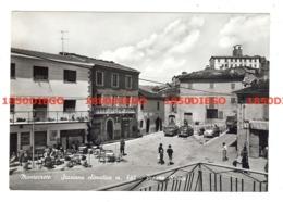 MONTECRETO - PIAZZA ROMA F/GRANDE VIAGGIATA 1962 ANIMATA INSEGNA TABACCHI E AUTO D' EPOCA - Modena