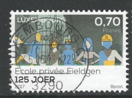 Luxemburg, Yv 2066 Jaar 2017, Gestempeld - Luxemburg