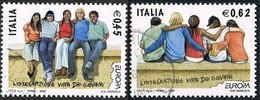 2006 - ITALIA / ITALY - EUROPA CEPT - L'INTEGRAZIONE / THE INTEGRATION. USED - Europa-CEPT