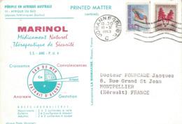 AFRIQUE DU SUD - MARINOL - IONYL- PERIPLE EN AFRIQUE AUSTRALE - 1963/64 - JOHANNESBURG. - Afrique Du Sud (1961-...)