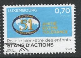 Luxemburg, Yv 2067 Jaar 2017, Gestempeld - Luxemburg