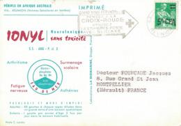 REUNION - MARINOL - IONYL- PERIPLE EN AFRIQUE AUSTRALE - 1963/64 - ST DENIS. - Covers & Documents