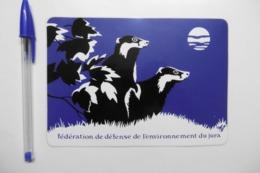 Autocollant Stickers - Animaux Ratons Laveurs Fédération De Défense De L'Environnement Du JURA 39 - Autocollants