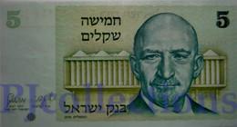 ISRAEL 5 SHEQUALIM 1978 PICK 44 UNC - Israel