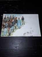 Cartolina Postale, Esercito Italiano, Cavalleria - Uniformen