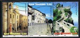 2008 - SAN MARINO - PATRIMONIO MONDIALE DELL'UNESCO / UNESCO WORLD HERITAGE. USATO - Usati