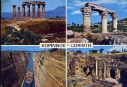 Corinth - Formato Grande Viaggiata – E 13 - Cartoline
