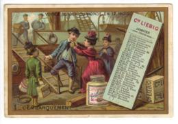 Série Complète 12 Chromos Liébig Voyage Autours Du Monde En 12 Mois - Liebig